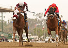 Willa B Awesome Delivers Santa Anita Stunner