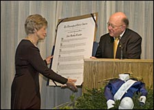 Alice Headley Chandler Honored by Thoroughbred Club of America