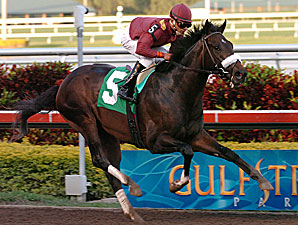 War Pass Breezes Sharp Half-Mile